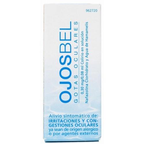 OJOSBEL GOTAS OCULARES, 0,30 mg/0,08 ml Colirio en solución , 1 frasco de 8 ml