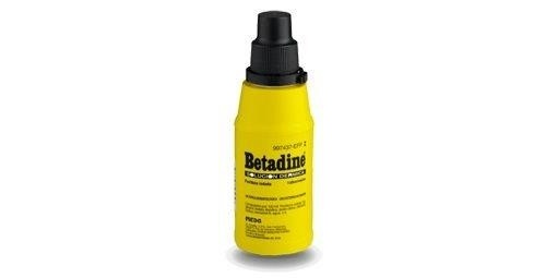 BETADINE SOLUCION DERMICA, 30 frascos de 500 ml
