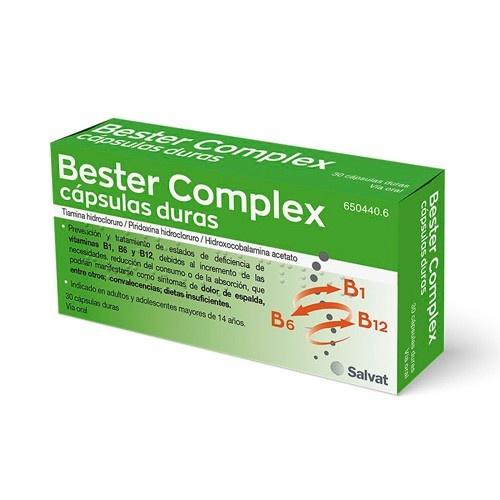 BESTER COMPLEX, 30 cápsulas