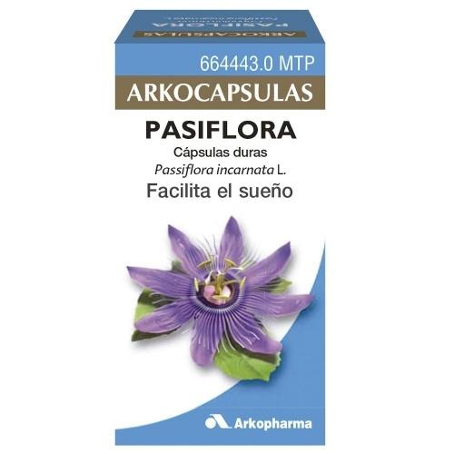 PASIFLORA ARKOPHARMA cápsulas duras , 50 cápsulas