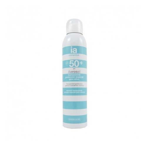 Interapothek fotoprotec spf 50+ aerosol infantil (transp 250 ml)