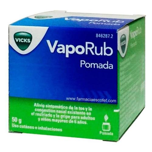 VAPORUB, 1 frasco de 50 g