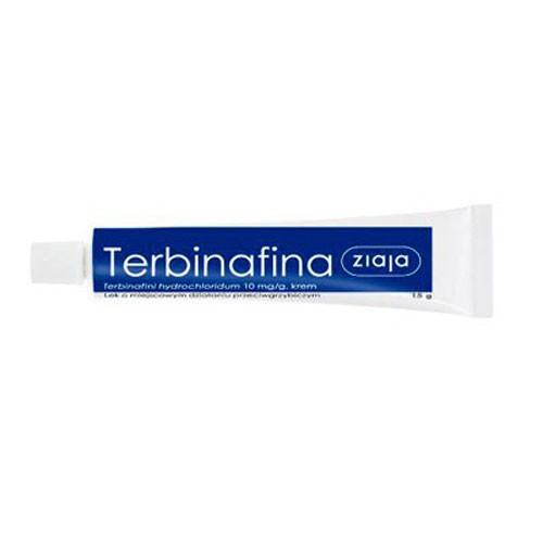 TERBINAFINA SSL 10 mg/g CREMA , 1 tubo de 15 g