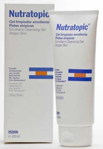 Nutratopic pro-amp piel atopica - gel de baño emoliente (200 ml)