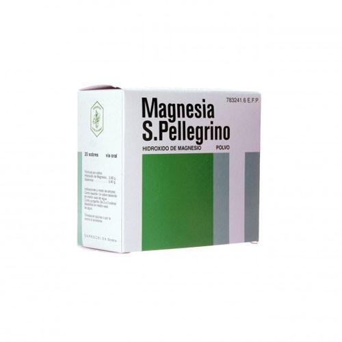 MAGNESIA SAN PELLEGRINO POLVO EFERVESCENTE, 5 sobres