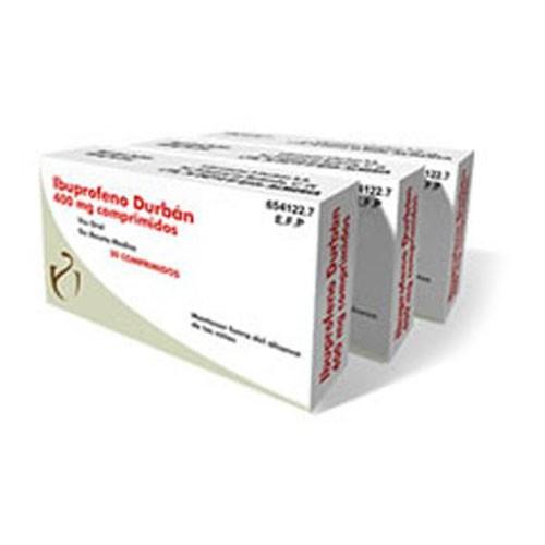 IBUPROFENO DURBAN 400 mg COMPRIMIDOS , 20 comprimidos