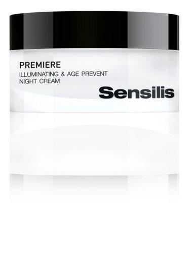 Sensilis premiere crema de noche iluminador - primeras arrugas (50 ml)