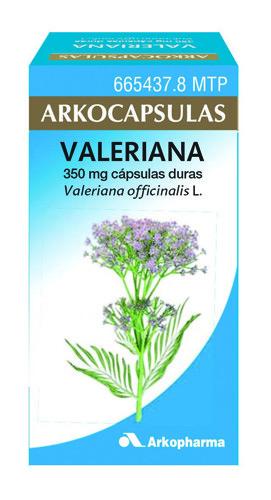 VALERIANA ARKOPHARMA cápsulas duras , 50 cápsulas
