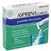 ASPIRINA COMPLEX GRANULADO EFERVESCENTE, 10 sobres