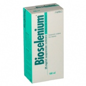 BIOSELENIUM25 mg/ml  SUSPENSION CUTANEA , 1 frasco de 100 ml