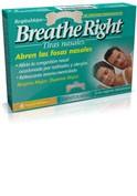 BREATHE RIGHT TIRA NASAL BALSAMICA T- GDE 8 U