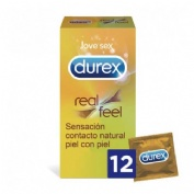 Durex® Sensitivo Real Feel 12uds
