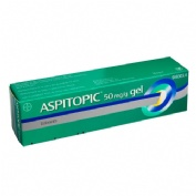 ASPITOPIC 50 mg/g GEL, 1 tubo de 60 g