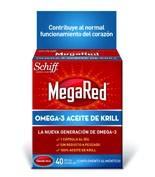 MegaRed® Omega 3 aceite de krill 40cáps