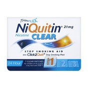 NIQUITIN CLEAR 7 mg/24H PARCHES TRANSDÉRMICOS , 7 parches