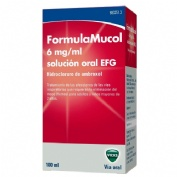 FORMULAMUCOL 6 MG/ML SOLUCION ORAL EFG , 1 frasco de 100 ml