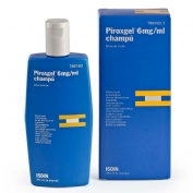 PIROXGEL 6 mg/ml CHAMPU , 1 frasco de 200 ml