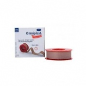 Esparadrapo hipoalergico - omniplast (tejido resistente 5 m x 1,25 cm)