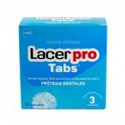 Lacer Protabs Tabletas Limpiadoras De Protesis Dentales 32 Compr