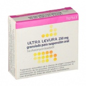ULTRA-LEVURA 250 MG GRANULADO PARA SUSPENSION ORAL , 10 sobres
