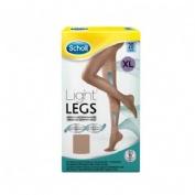 MEDIAS E.T. CINT COMP LIGERA 20 DEN SCHOLL LIGHT LEGS CARNE T- X
