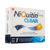 NIQUITIN CLEAR 21 mg/24 HORAS PARCHES TRANSDERMICOS , 14 parches