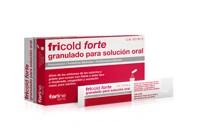 FRICOLD FORTE GRANULADO PARA SOLUCION ORAL , 10 sobres