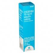 CRISTALMINA 10 mg/ml SOLUCION CUTANEA , 1 frasco de 125 ml