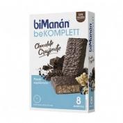 biManán® Komplett barritas chocolate 8 barritas