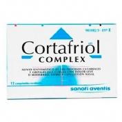 CORTAFRIOL COMPLEX COMPRIMIDOS RECUBIERTOS , 12 comprimidos