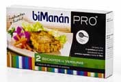Bimanan metodo pro bocaditos de verduras - hiperproteica e hipocalorica (100 g 2 u)