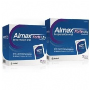 ALMAX FORTE 1,5 g SUSPENSION ORAL , 500 sobres