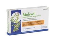 MELIVAL COMPRIMIDOS RECUBIERTOS, 30 comprimidos