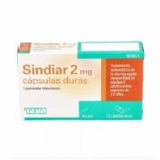 SINDIAR 2 mg CAPSULAS DURAS , 20 cápsulas